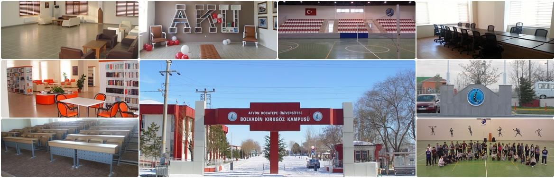 Bolvadin Uygulamalı Bilimler Yüksekokulu